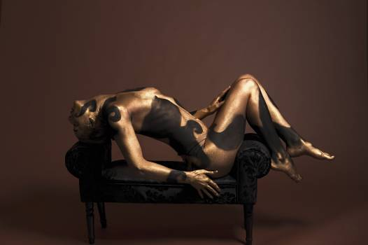 Artistic body body art body painting Free Photo