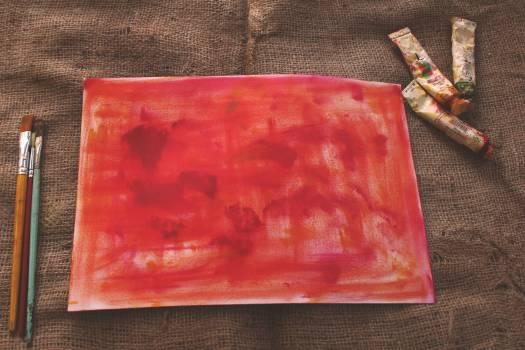 Art artist bright brushes Free Photo