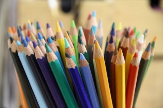 Art color colorful colorful pen Free Photo
