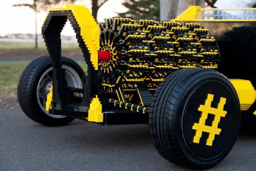 Auto black block brick #80177