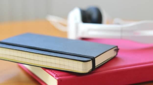 Blur book close up college Free Photo