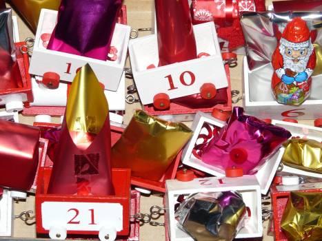 Advent advent calendar gifts nicholas Free Photo