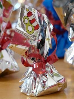 Advent calendar gift loop packaging Free Photo