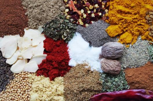 Color cooking nutmeg paprika Free Photo