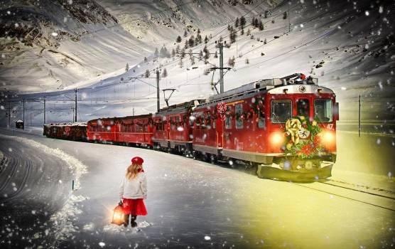 Christmas christmas backdrop christmas background christmas train #81267