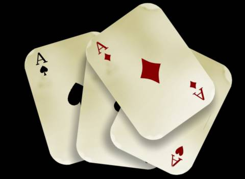 Aces cards casino chance #81471