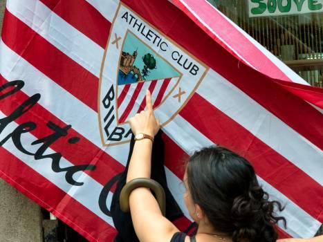 Athletico bilbao club flag Free Photo