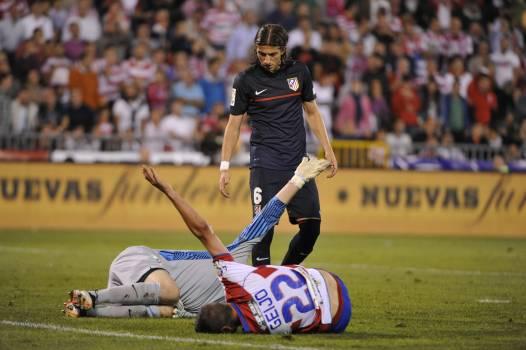 Football club game granada injury Free Photo