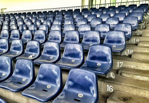 Audience background bucket seats club #81601