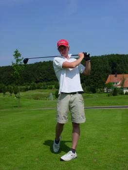 Active athletes boy golf Free Photo
