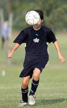 Boy field football football player #81790