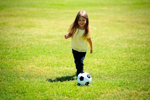 Ball child childhood fun Free Photo