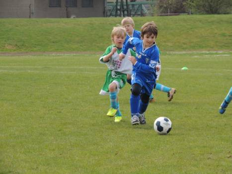 Ball children football game Free Photo
