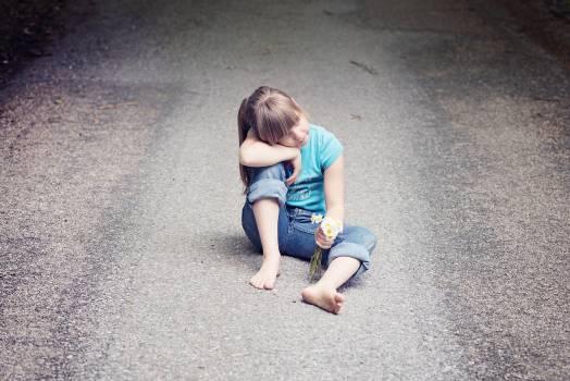 Alone away child girl Free Photo