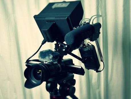 Aperture audio blur camcorder Free Photo