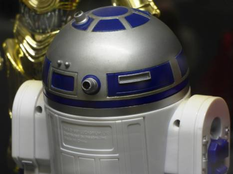 R2d2 robot space star wars #82389
