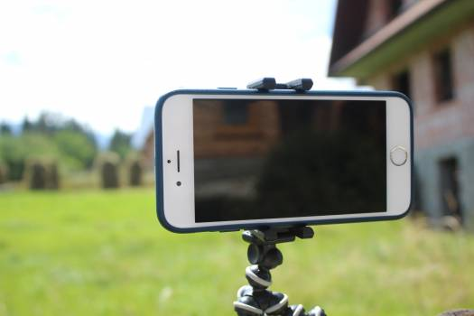 Camera cell cellular phone electronic equipment Free Photo