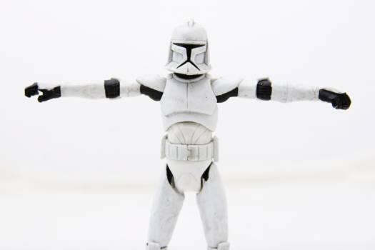 Soldier star star trooper star wars Free Photo