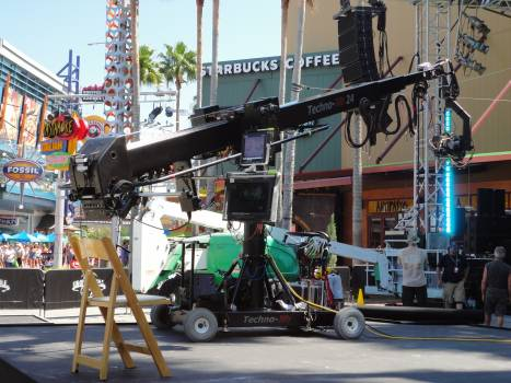 Concert crane equipment festival Free Photo