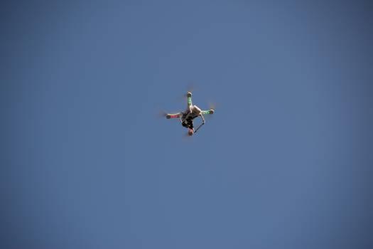 Air camera driving drone Free Photo