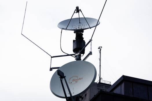 Antenna astra satellites head of reception home antenna Free Photo