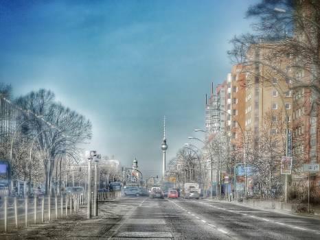 Berlin blitzer building capital Free Photo