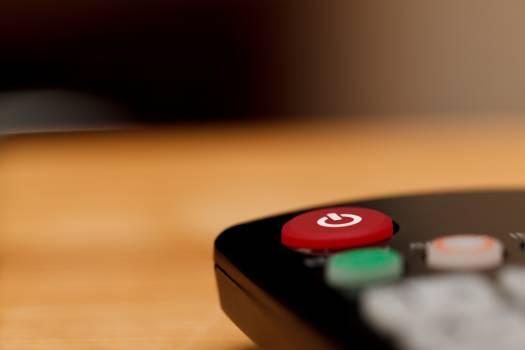 Black button communication control Free Photo