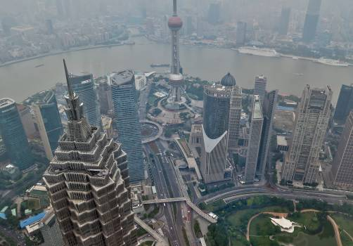 Air pollution architecture asia building Free Photo