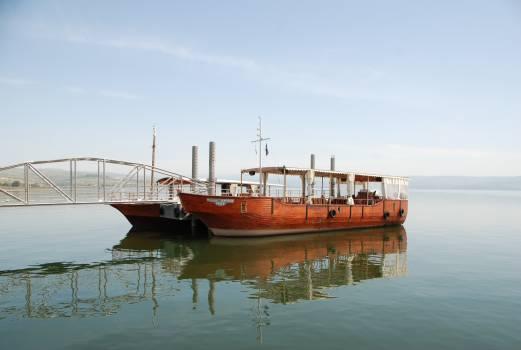Boat galilee israel lake Free Photo