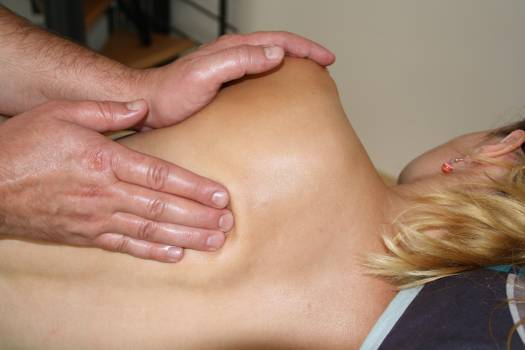 Back massage back problems hands manual therapy Free Photo