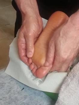 Feet foot massage spa Free Photo