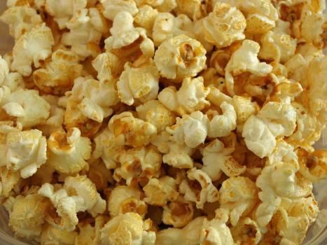 Buttered cinema corn crunchy Free Photo