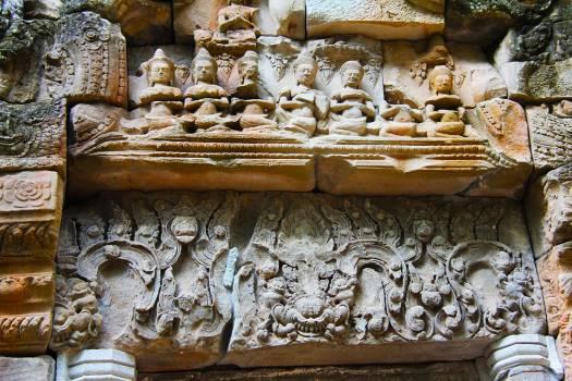 Ancient angkor angkor wat antique Free Photo