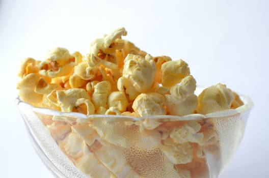 Bowl buttered corn delicious Free Photo