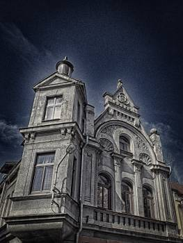City dark duchcov horror movie Free Photo