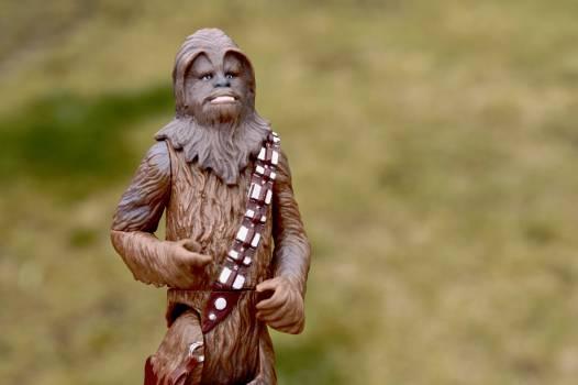 Action figure chewbacca film movie Free Photo