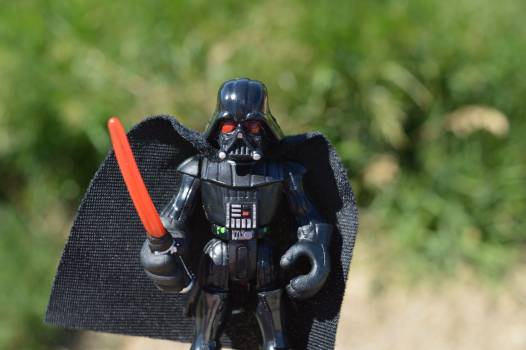 Action figure cape character dark Free Photo