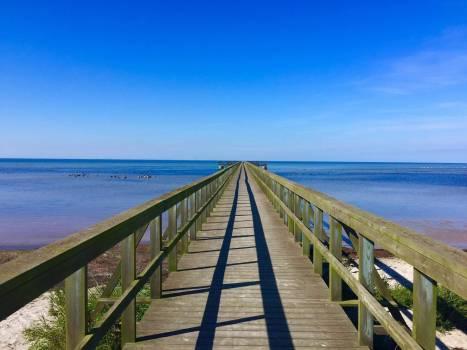 Bridge horizon sea web #83546