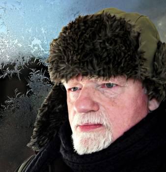 Beard clothing cold contemplative #84521