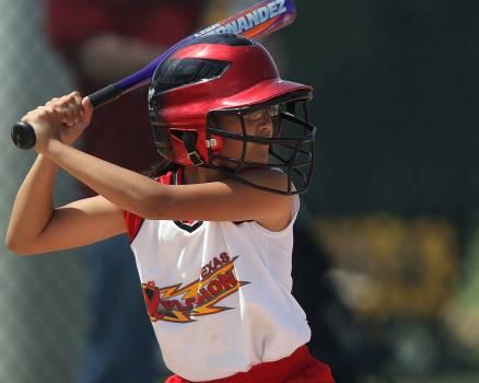 Action athlete bat batter Free Photo