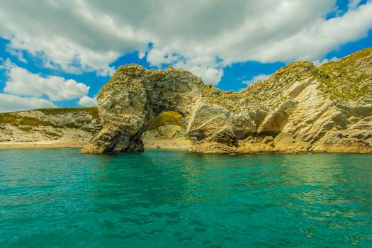 Dorset durdle door england ocean Free Photo