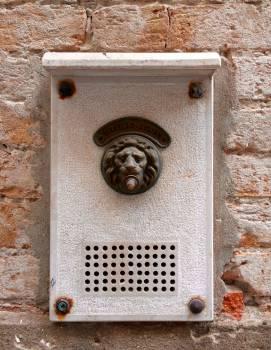 Door bell lion venice vintage Free Photo