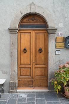 Apartment building door door handle Free Photo