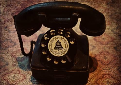 Communication dial miniature nostalgia Free Photo