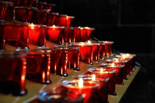 Candles church faith heat #85638