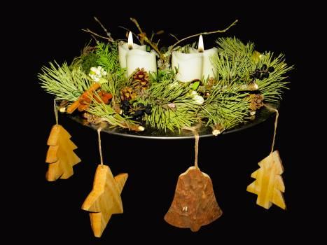 Advent advent wreath arrangement candle #85723