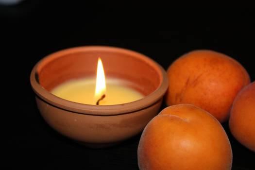 Candle flame wax Free Photo