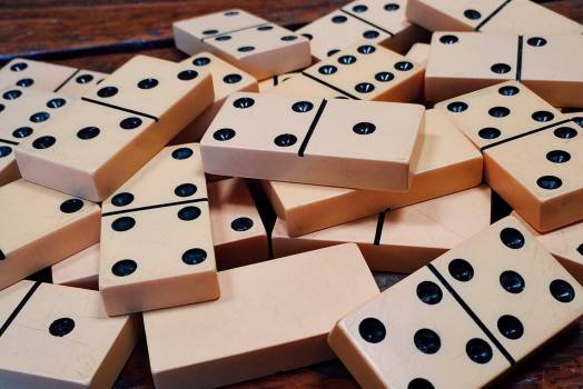 Addiction deck dominoes gambling Free Photo