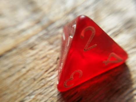 D4 dice game play Free Photo