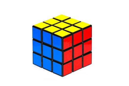Cube fun game problem Free Photo